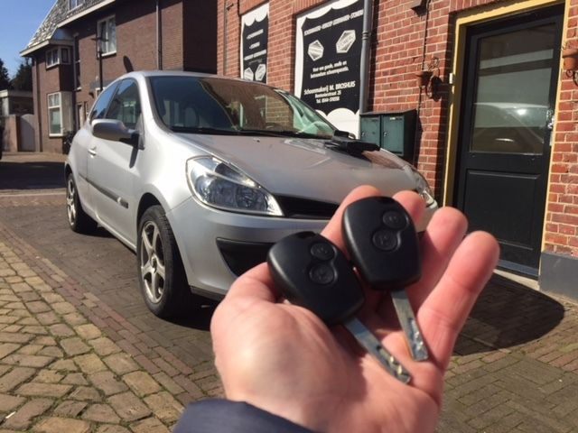 Renault Clio Autosleutel Incl Afstandsbediening