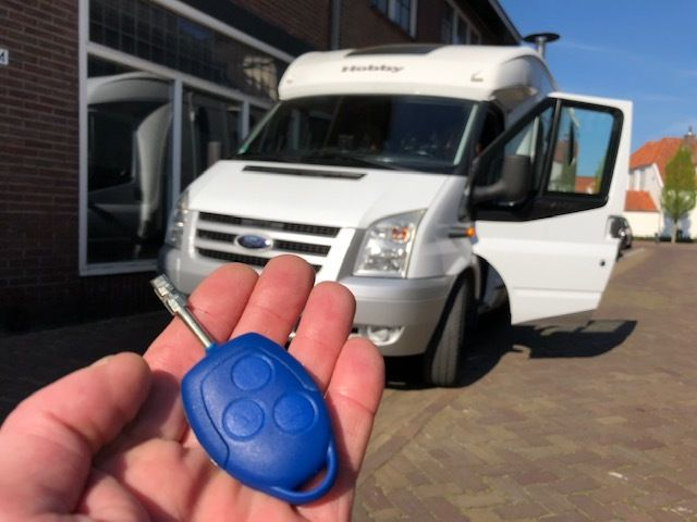 Ford Transit Camper Autosleutel